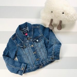 Other - *🎉🎈HP🎈🎉Girls Denim Jacket Size 4T